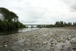 view of Manaawtu river and Ashhurst Bridge Ashhurst