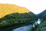 Manawatu Gorge & River at sunset