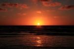 Sunset at Foxton Beach