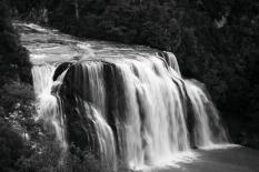 Waihi Falls in BW 26/5/17