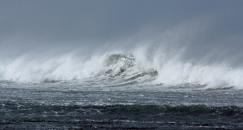 Waves at Mataikona Rocks